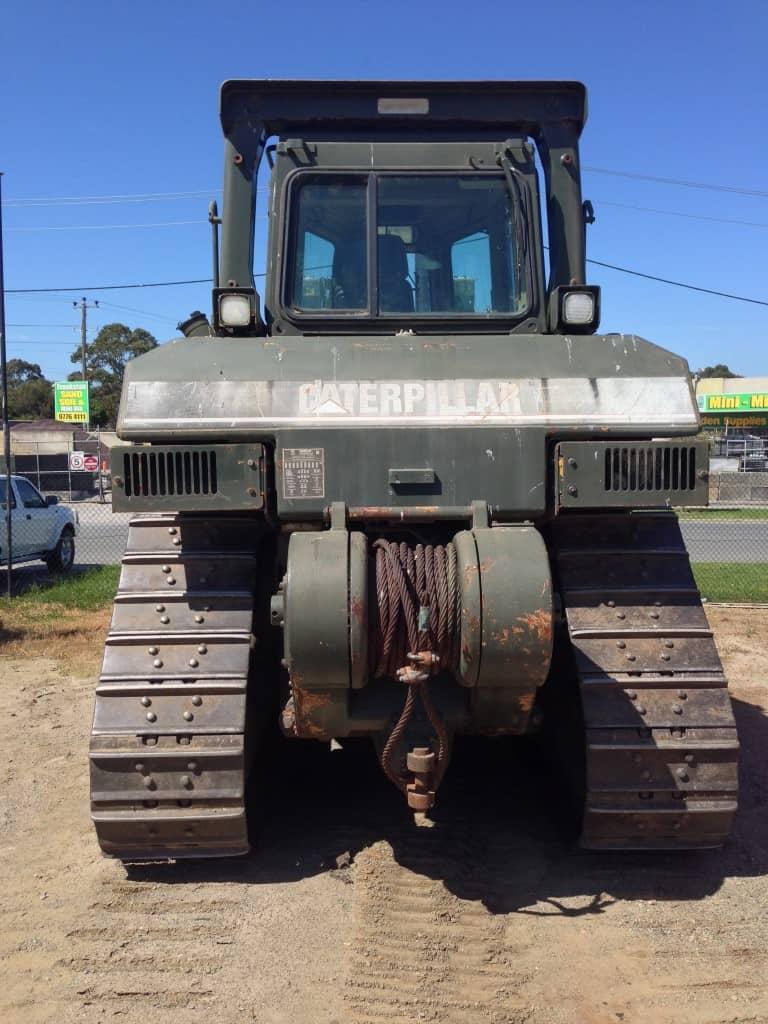 D7H Army | Heavy Equipment Refinishing